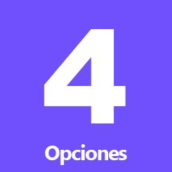 4-opciones