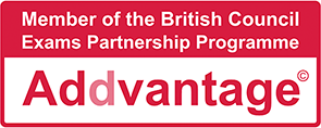 Member of the British Council Exam Partnership Programme