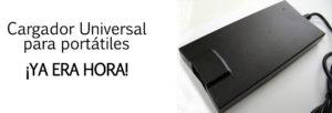 Cargador universal portátiles ¡Ya era hora!