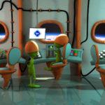 Ilustración 3D realizada para una campaña de promoción de Tau Formar