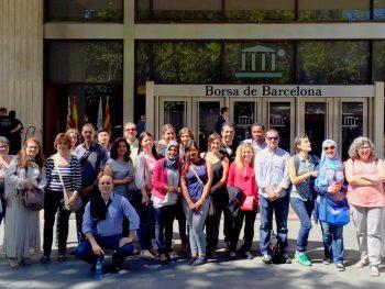 Visita a la Borsa de Barcelona