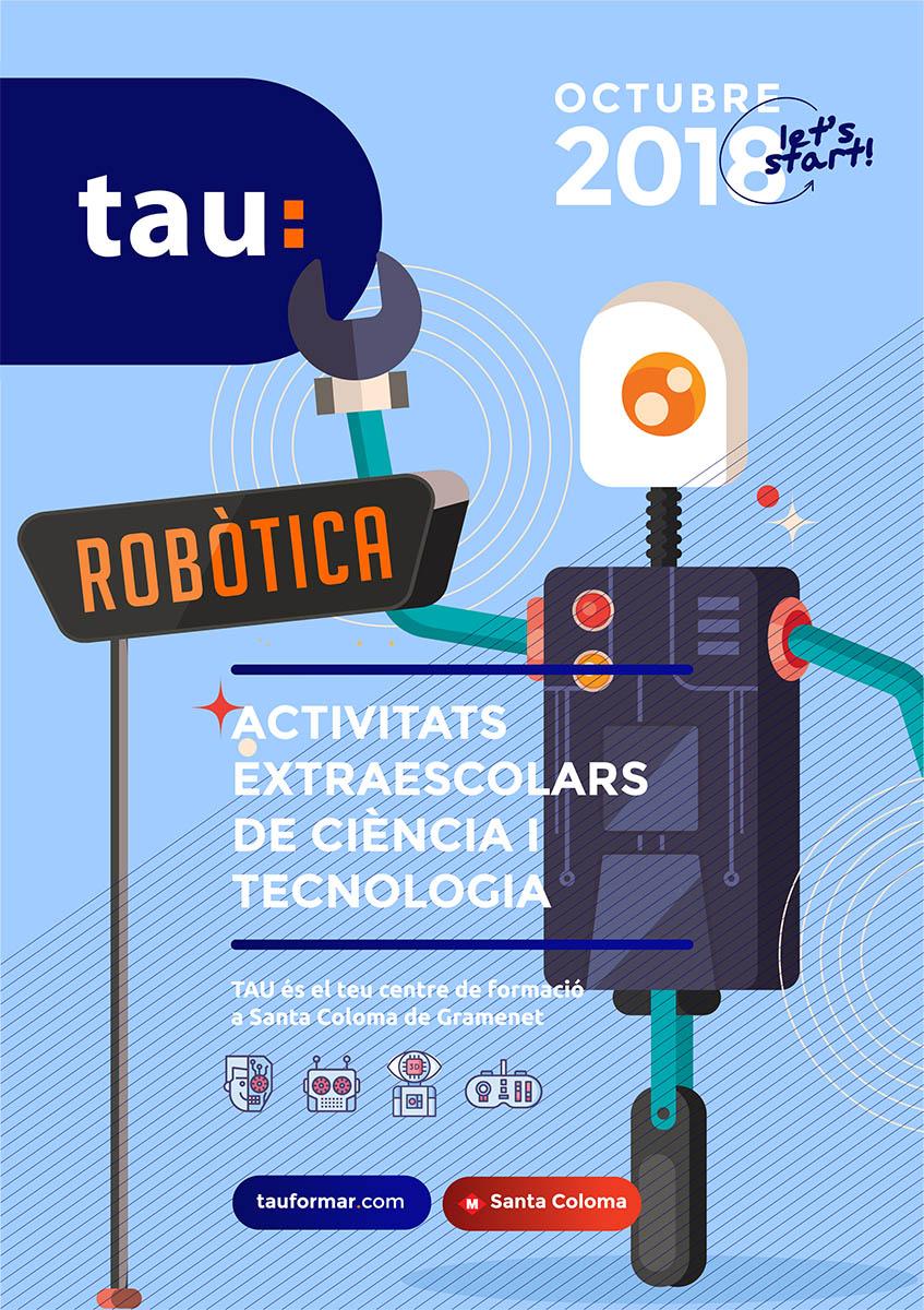 Tau Formar - curs anual Petits Enginyers curso anual de ciencia, tecnología y TICS