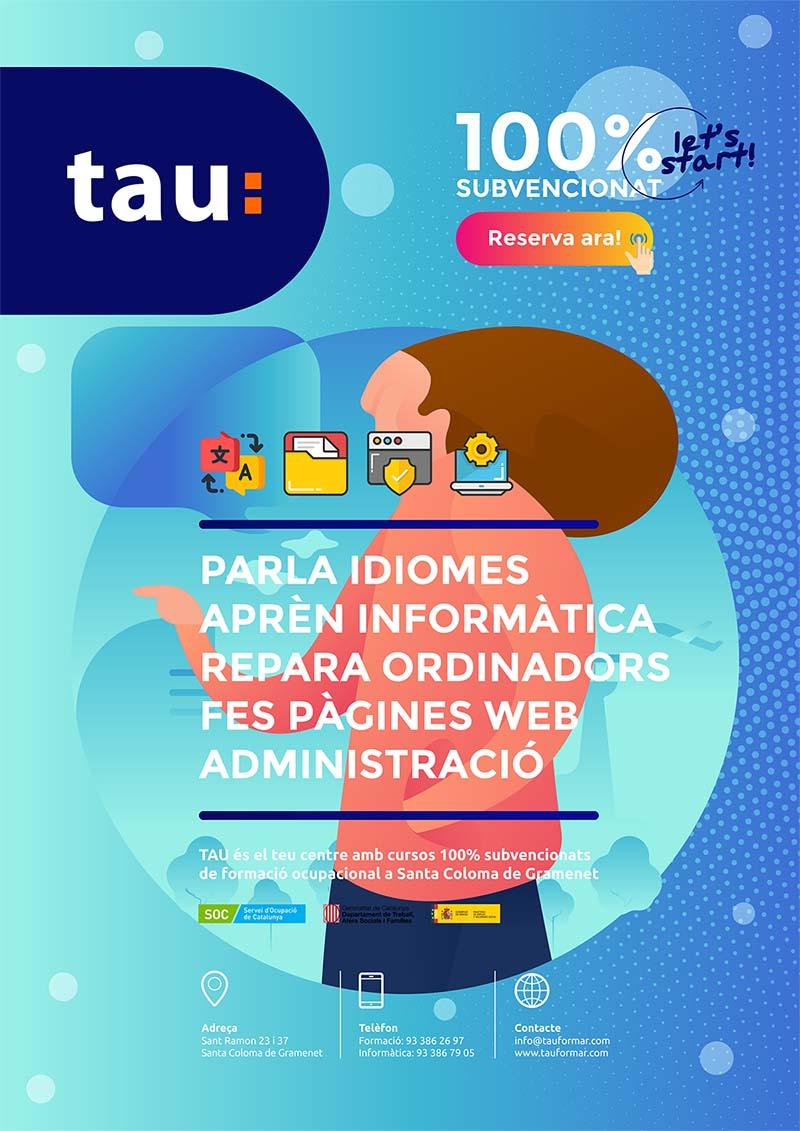 Cursos de formación ocupacional en Santa Coloma de Gramenet con Tau Formar