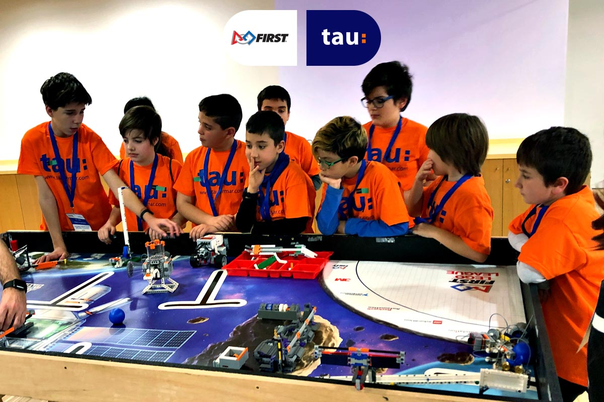 First Lego League en  Barcelona con Tau Formar