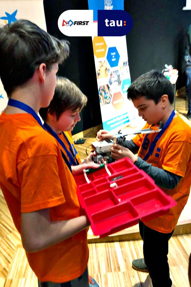 First Lego League competición en Barcelona