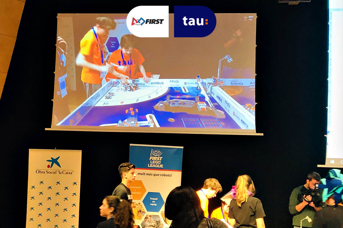 First Lego League Into Orbit con Tau Forma